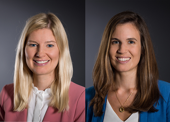 Alice Pearson and Lynsey Lord private client team promotions